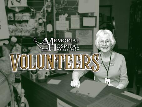 Volunteer at Memorial Hospital