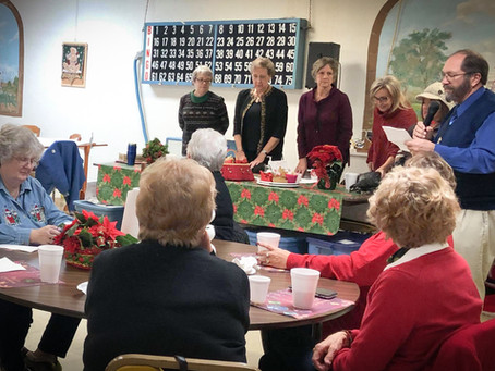 Auxiliary's Annual Meeting Honors Symbol of Hope