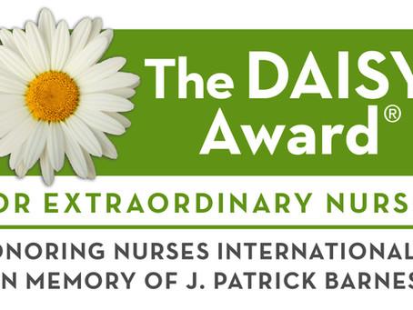 The DAISY Foundation: Recognizing Memorial's Extraordinary Nurses