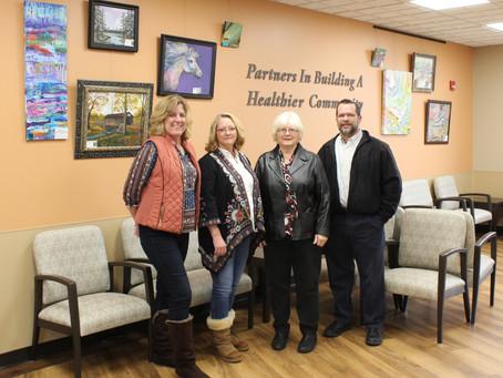 Art Guild Displays Artwork at Hospital