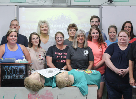 St. John's Teachers Renew CPR Certification