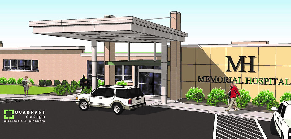Memorial Hospital Construction