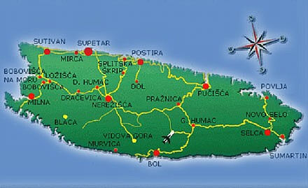 Insel Brac Urlaub