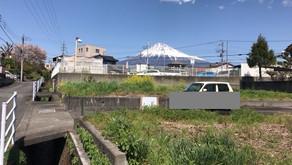 富士山の見える土地  富士市天間 500万円