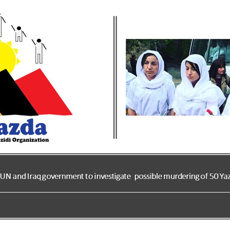 Yazda calls on the UN and Iraq to investigate possible murdering of 50 Yazidi women in Syria