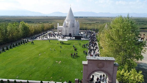 Opening of the second largest Yazidi Temple after Lalish in Republic of Armenia