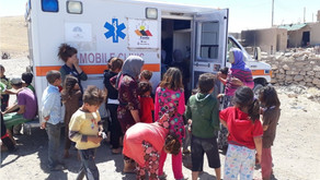 Yazda Mobile Medical Clinic  Provides Free Medical & health care to 14 remote villages in Sinjar