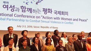 Yazda delegation participated in the 1st International Conference on Action with Women & Peace-Korea