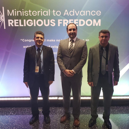 Yazda participates in Ministerial to Advance Religious Freedom in Washington D.C