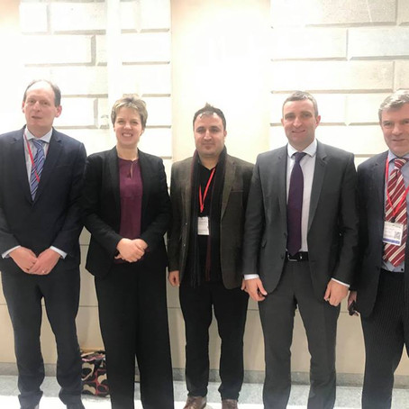 Yazda Met with Members of the Irish Parliaments