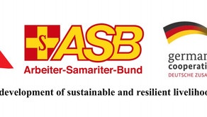 Yazda& ASB are pleased to announce a livelihood and agriculture project funded by BMZ