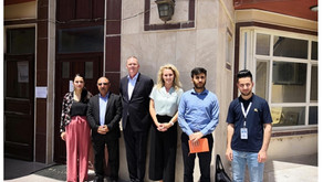 A delegation from the Dutch General Consulate in Erbil visited Yazda