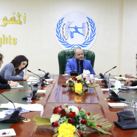 Yazda Delegation met with the Iraqi High Commission for Human Rights