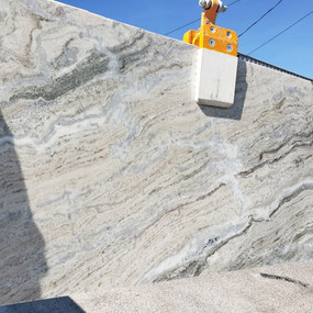 Terra Bianca Polished Slab