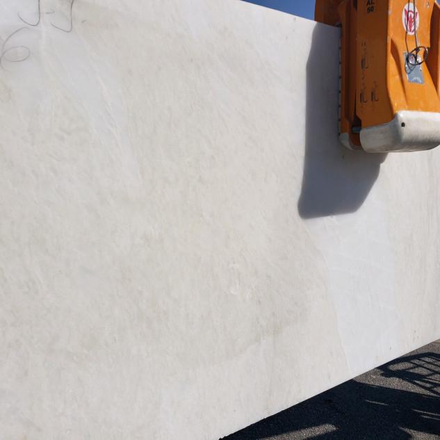 Namib White Honed marble