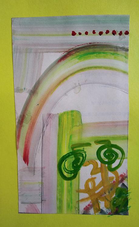 My art improves day by day! Reiki Sigil healing art card