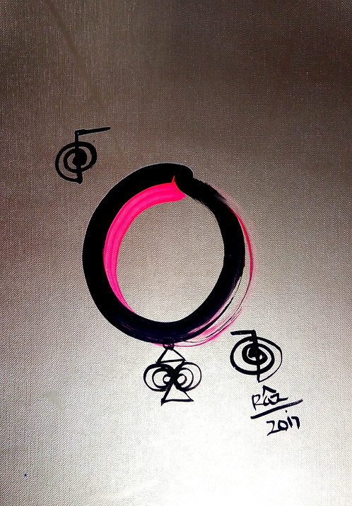 Golden Enso! I accept my Greatness and All that I am!
