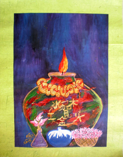 My Beautiful Feng shui Pot of Prosperity