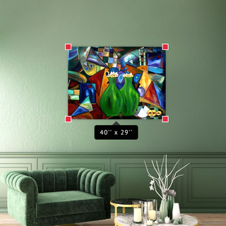 Cubism Abstract Paintings Collection