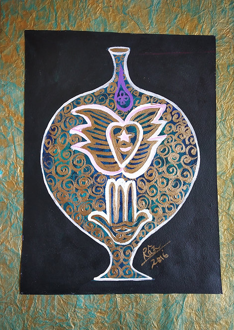 Shine like the whole universe is yours The sufi pot of healing
