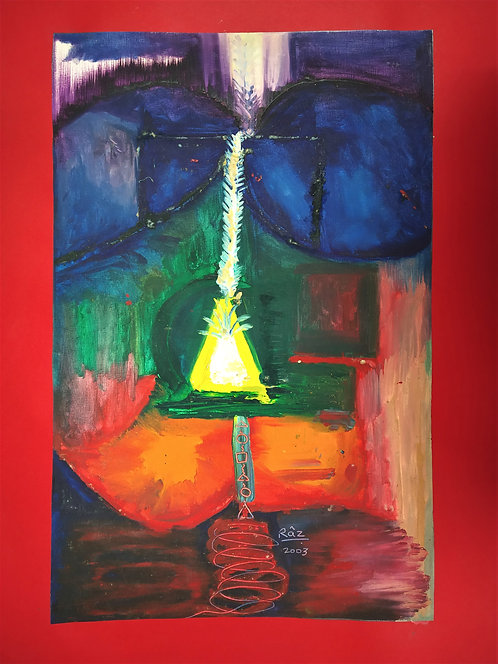 Kundalini Year 2003! Spiritual Abstract painting for sale