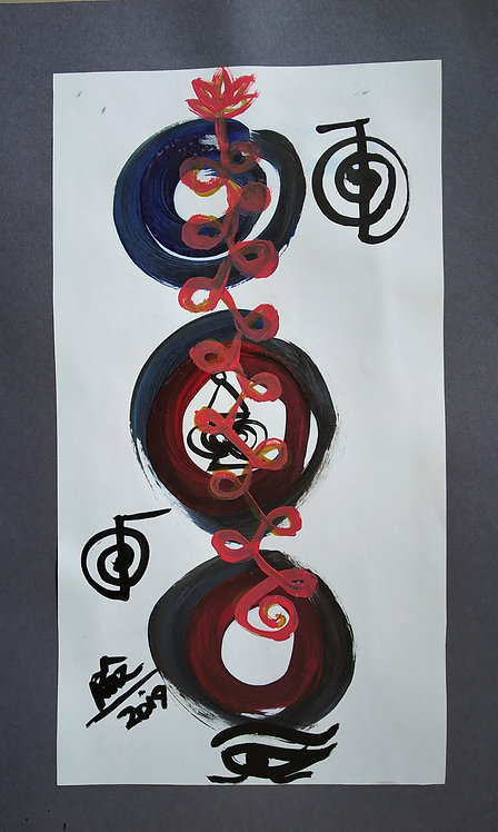 Enso Deep Healing! The Unalome Strength Lotus! I Accept Myself!