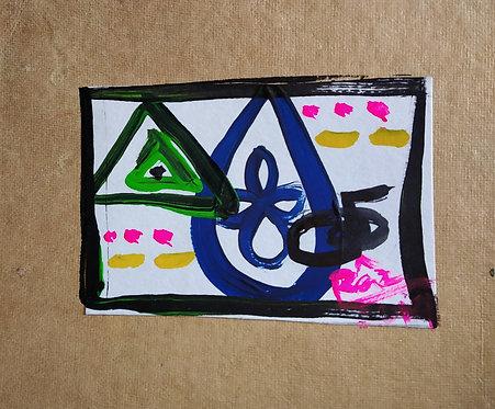 Child Protection Reiki art card
