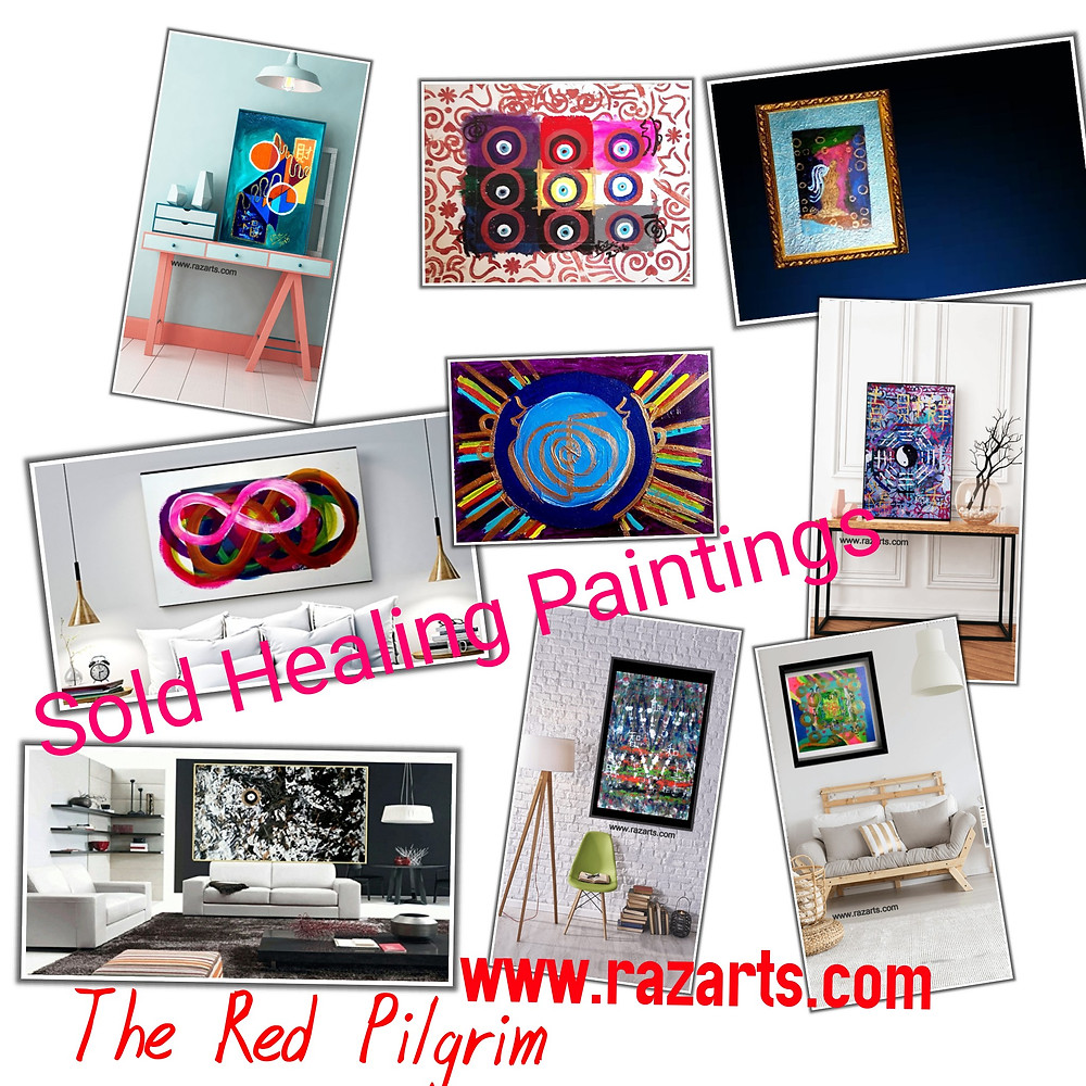 some of my sold paintings