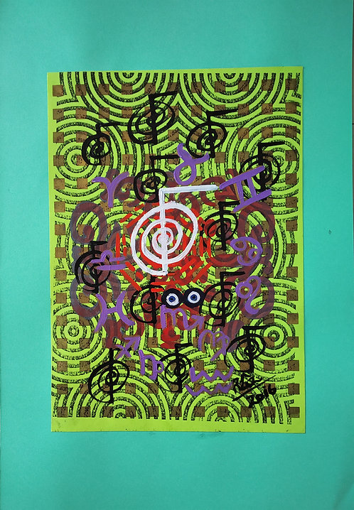 Mesmerizing Zodiac Luck! Reiki Zodiac Feng Shuii Painting