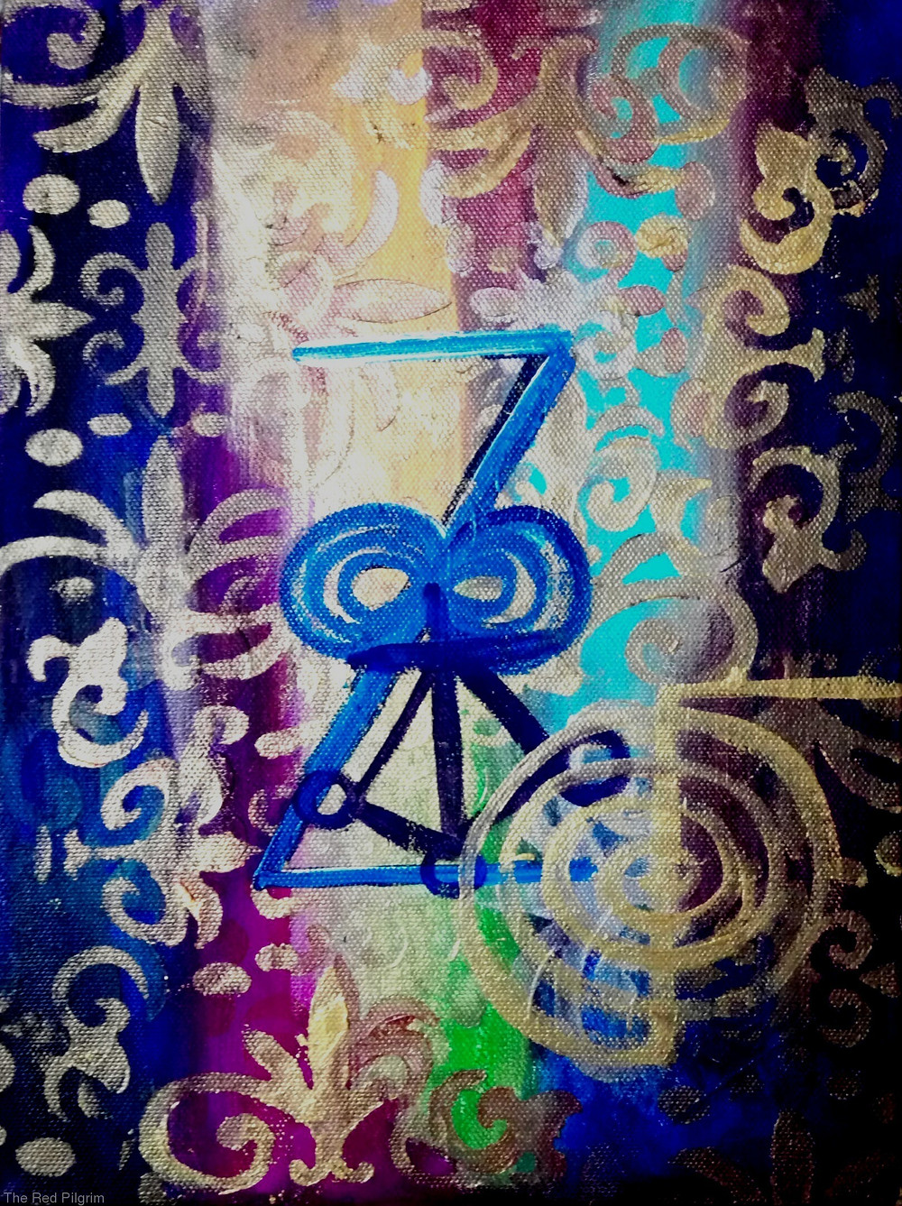 Untitled! Zonar abstract calligraphy healing painting