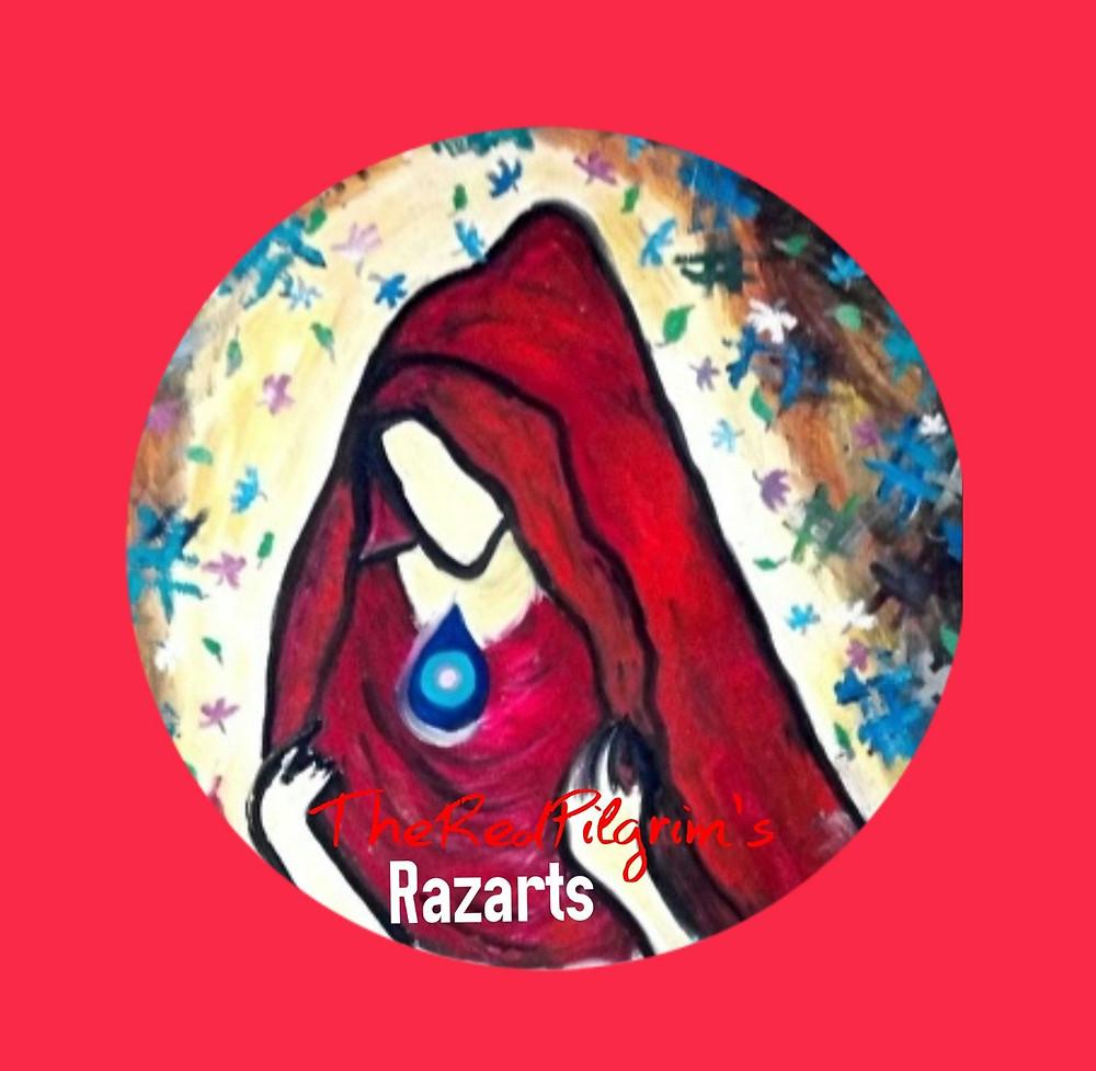 The Red Pilgrim! Reiki Healing Artist India
