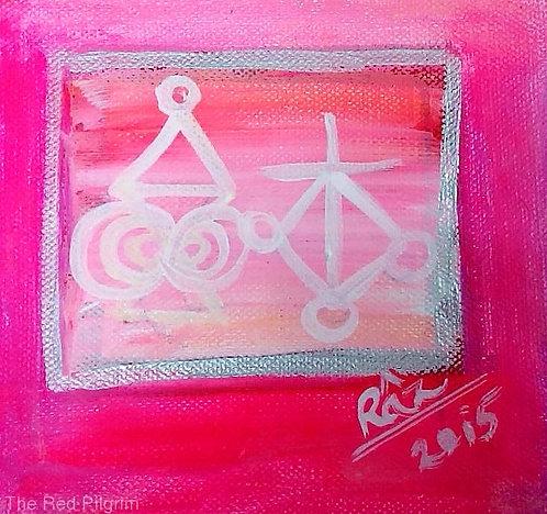Halu and Harth !Tiny healing art Sold