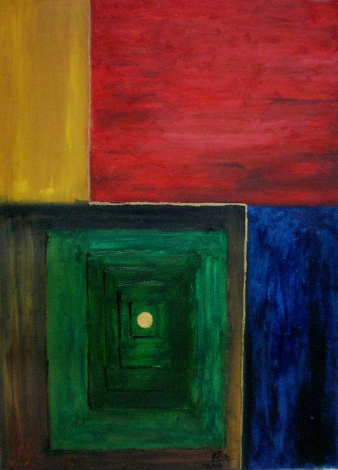 Opulence! Spiritual Cubism painting