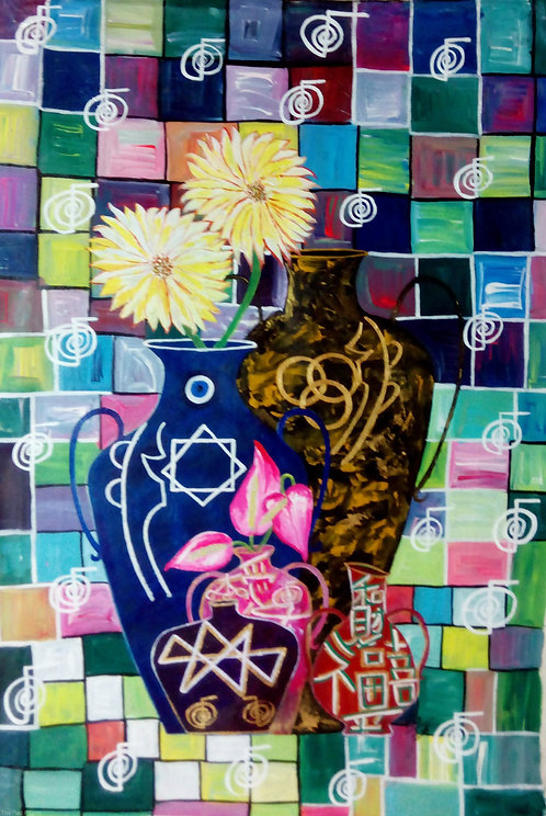 5 Spiritual Reiki Pots of Abundance