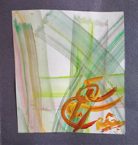 Creative inspirations flow through me! Tiny Reiki Sigil healing art card