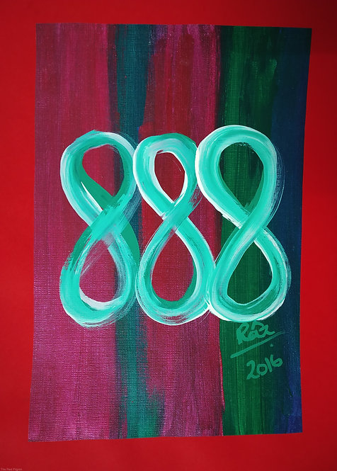 Triple Infinities!Triple Luck!Small Infinity Symbol artwork