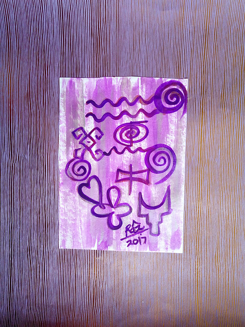 Lilac Golden Sheen 3! synchronicity of love strength and success
