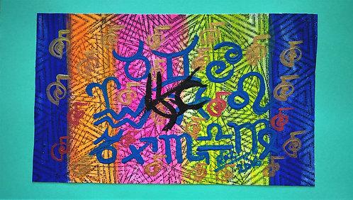 Aligned Classic Zodiac! I am treated with kindness and respect! Zodiac Reiki art