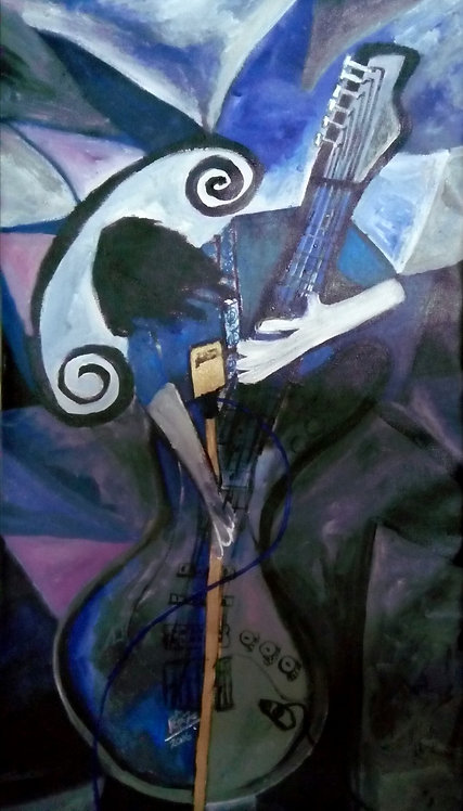 Blue Dreams! The Young Guitarist!