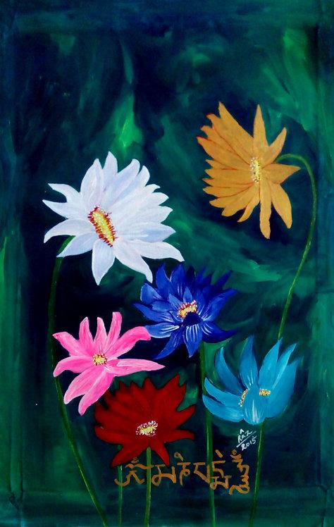 The 6 Lotuses of Buddha