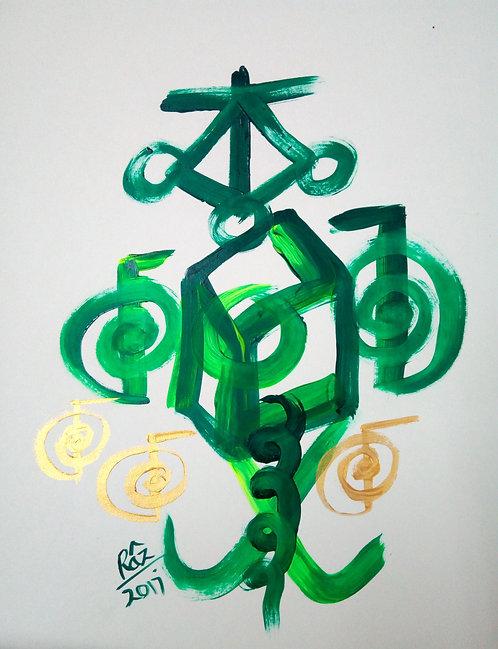 The Rejuvenating Anthakarna 7! Vibrant Green Healing!