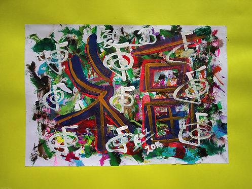 9 Cho Ku Rei's of Goodluck Work And Home Harmony Balance Healing  abstract