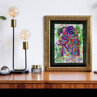 Goodluck Symbol healing paintings