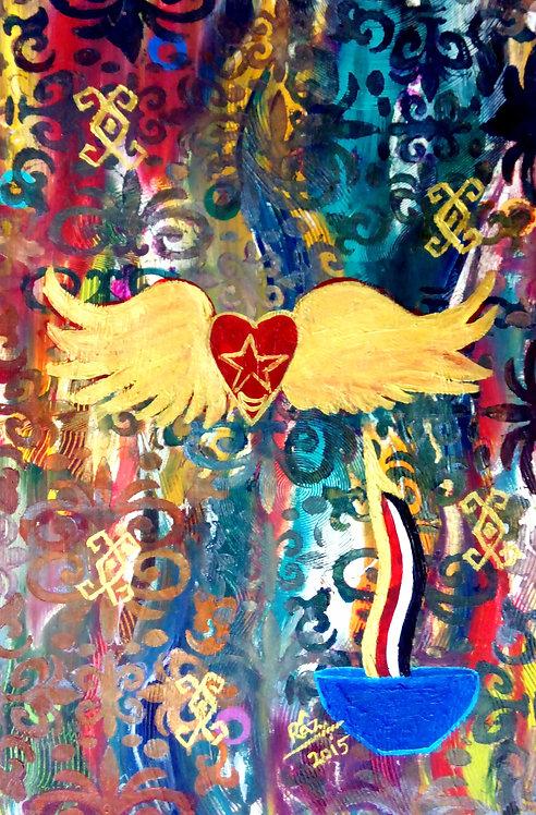 My Golden Wings Tetramorphic Progression