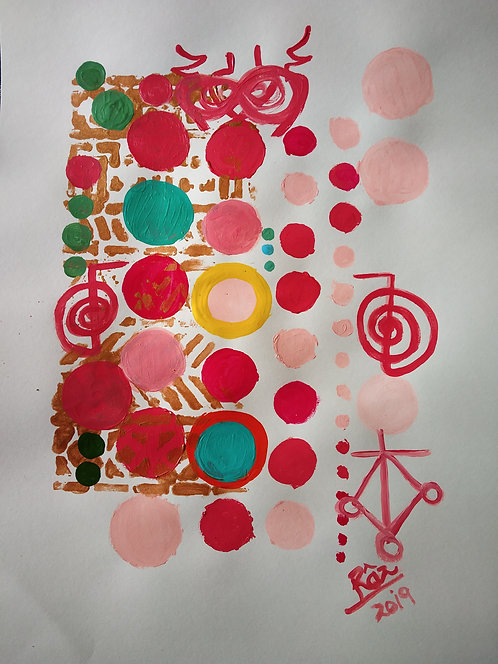 Christ Ray Joy of Coral! Collection of Five artworks!