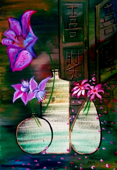 Welcoming Grace! Healing Still Life Painting