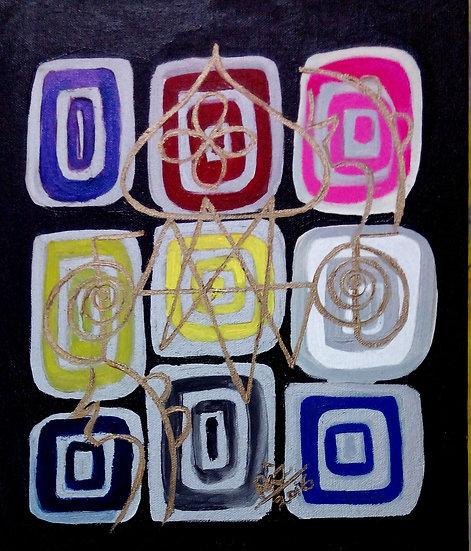Colours of Prayer-Joy of Simplicity!