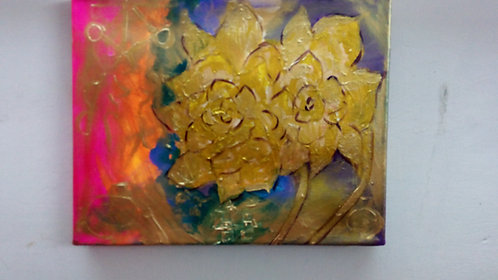 Golden roses! Sold