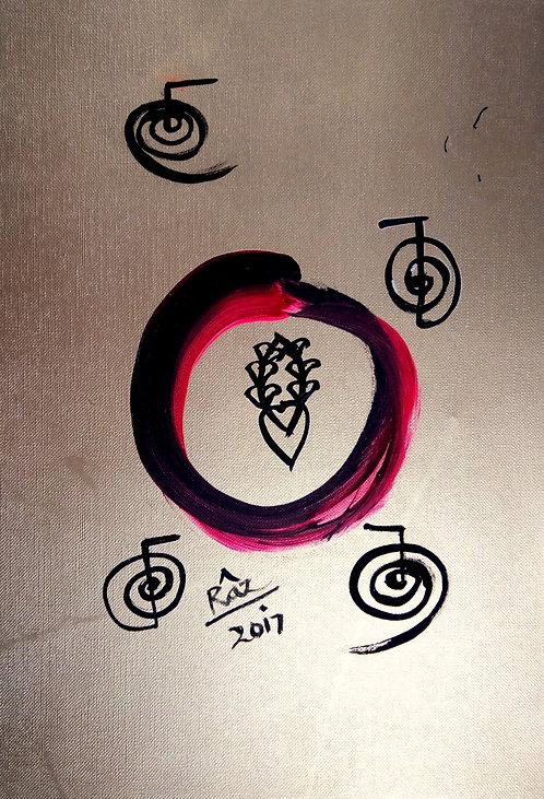 Golden Enso Yin Yang ! I am harmony! I am aligned!