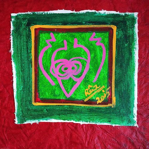 Mai Yur Ma Gateway to The Soul! Tiny Reiki art card